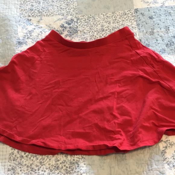 Forever 21 Dresses & Skirts - Red Circle Skirt